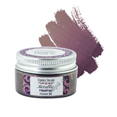 FABRIKA DECORU - METALLIC PAINT - HEATHER