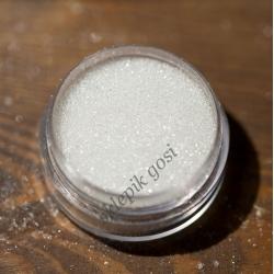 MIKROGRANULKI SZKLANE śnieg (sieczka) bezbarwne tansparentne 0,3mm-0,4mm