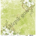 O'CLOCK - Dwustronny papier do scrapbookingu - GREENERY CHARM 02