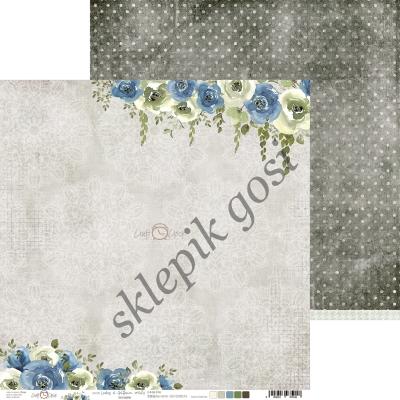 O'CLOCK - LADIES&GENTLEMEN - 04a - dwustronny papier 30,5x30,5cm