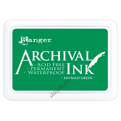 TUSZ ARCHIVAL INK - Emerald green