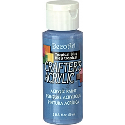 Crafter`s Acrylic tropical blue 59 ml
